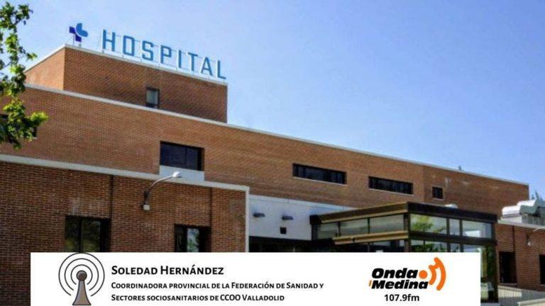 Un nuevo brote en el Hospital de Medina del Campo origina cinco contagios en profesionales sanitarios