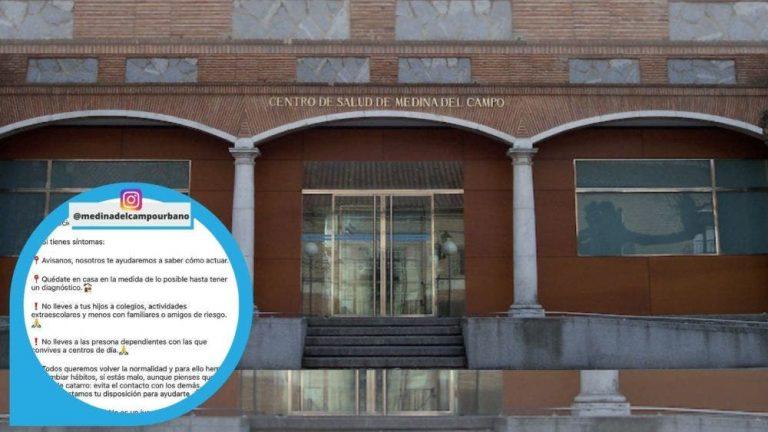 El Centro de Salud de Medina del Campo Urbano hace un llamamiento a la responsabilidad ante la tercera ola de la COVID19