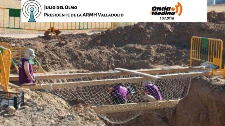 Julio del Olmo sobre la excavación de 'El Pozo': «Seguramente para marzo o abril abordemos los trabajos de exhumación»