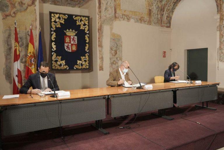 La Junta, Diputación y Ayuntamiento de Valladolid firman el protocolo para la Casa Museo Delibes
