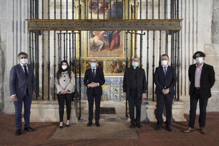 La Junta y la Parroquia de Simancas recuperan la capilla de los Gallo Andrada