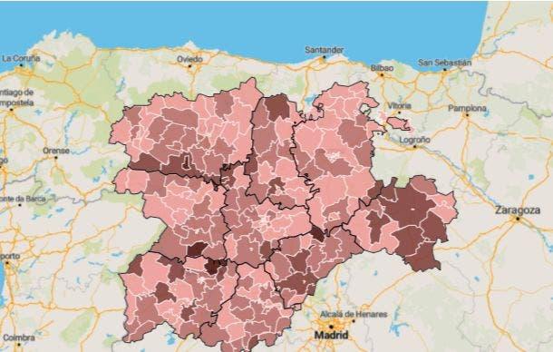 El 25,9% de las 1.390 personas muertas en Medina y Comarca desde el 1 de marzo del 2020 fue por COVID-19