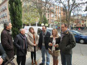 Izquierdo, Villazán, Soraya Rodríguez, Hernando, Teresa López y Vadillo.