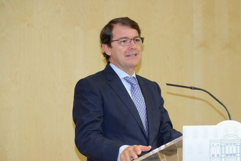 El presidente destaca el avance de la conexi?n de AVE entre Castilla y León y Galicia