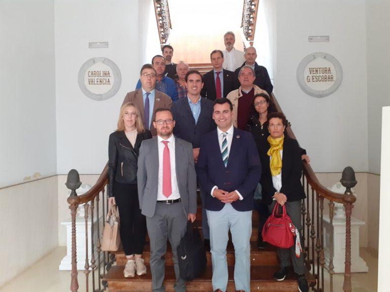 Guzmán Gómez asisti? a la reunión con el director general de Patrimonio, como vicepresidente de La Red de Conjuntos Hist?ricos de Castilla y León
