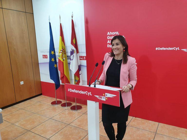 Ana Sánchez:.?Los castellanos y leoneses han dicho en las urnas que no quieren el pacto de la rapi?a ni a Mañueco de presidente?