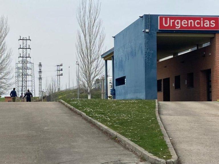 El Hospital de Medina del Campo registra una nueva muerte y dos ingresos por COVID-19