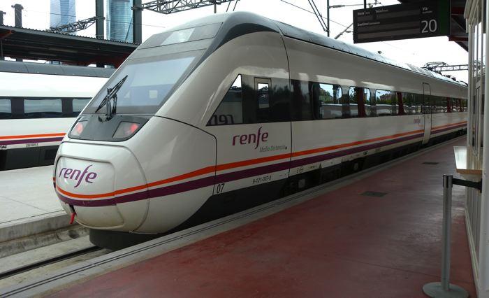 Renfe amplía los servicios en varias provincias de la Comunidad