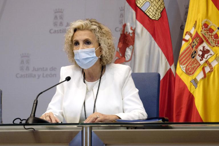 Castilla y León notifica hoy 296 nuevos casos de la enfermedad COVID-19, con lo que su número acumulado es 127.560