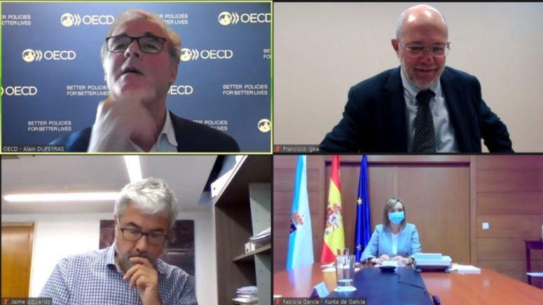 Igea comparte ante la OCDE las demandas de Castilla y León en las estrategias para la despoblaci