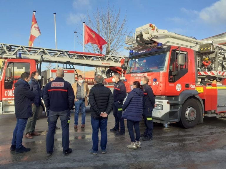 Medina del Campo: El PSOE provincial denuncia ante el Consejo de Cuentas la prestación del servicio de bomberos