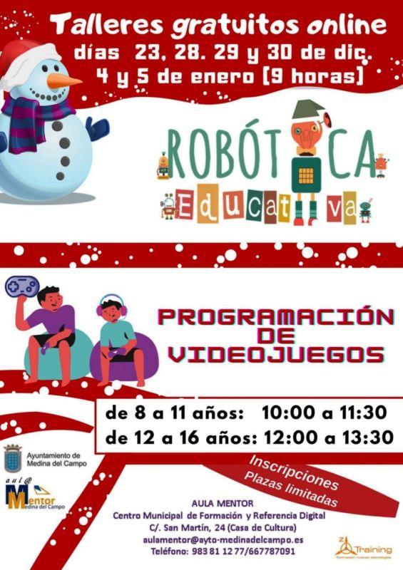 El Ayuntamiento ofrece en Navidad actividades de Rob?tica Educativa y Programaci?n de videojuegos