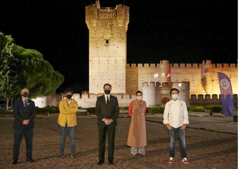 Los fogones del Castillo de la Mota acogen a MasterChef Junior