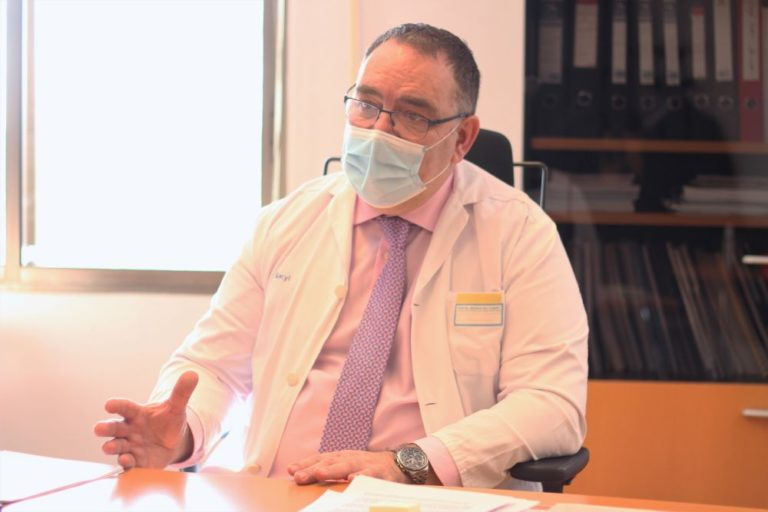 José Manuel Vicente, gerente del Hospital de Medina: «La Consejería ha puesto oídos a nuestras necesidades»