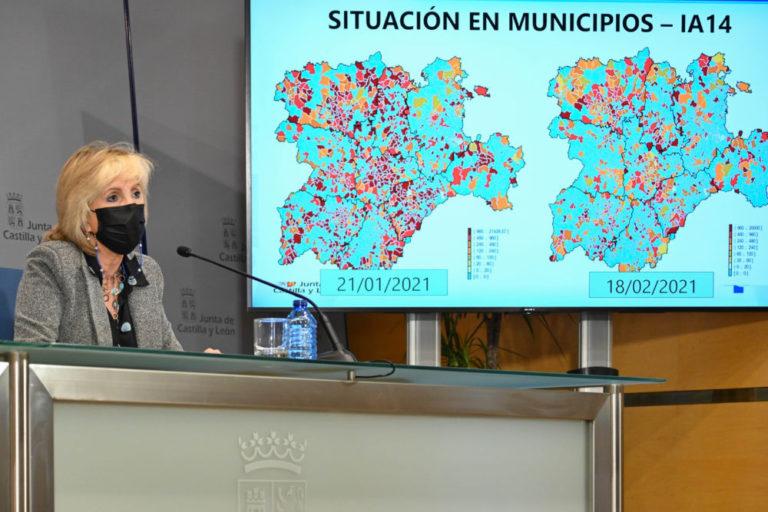 Covid: 256 nuevos casos y 13 defunciones en hospitales en Castilla y León