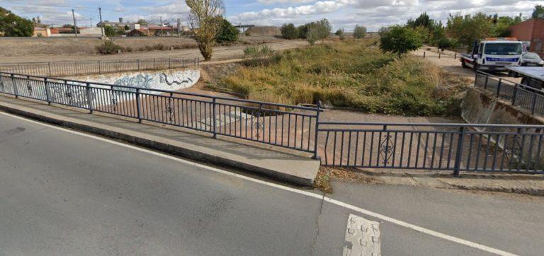 La Policía Local de Medina del Campo rescata a un hombre en el río Zapardiel
