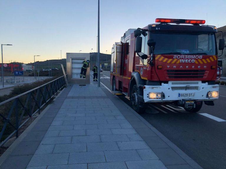 Las rachas de viento obligan a intervenir a los bomberos de la provincia