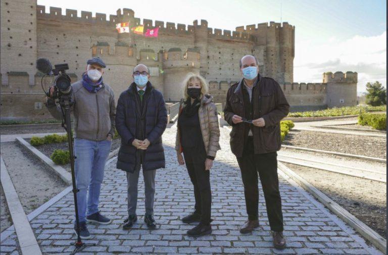 Medina del Campo: El Castillo de la Mota recibe la visita de profesionales de la ETV