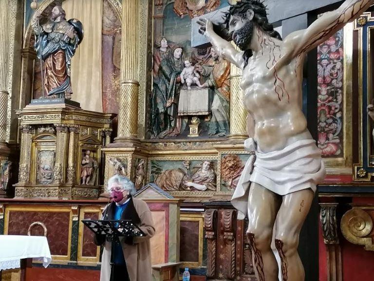 Emotivo pregón de Inmaculada Hernández en la iglesia de Santiago el Real