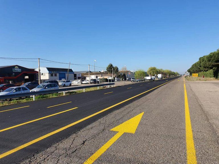 Las obras en uno de los puentes sobre la A-6 modificará el tráfico durante dos meses
