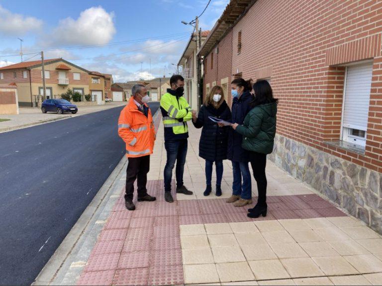 Avanzan las obras para mejorar la seguridad vial en la carretera ZA 504