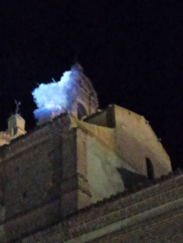 Los daños causados por un rayo en la Iglesia de Castrejón podrían ascender a más de 30.000 euros