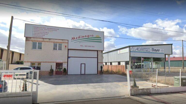 Robo de madrugada a dos empresas de Medina del Campo