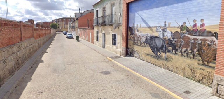Comienza la urbanización de la calle Estación Vieja en Medina del Campo