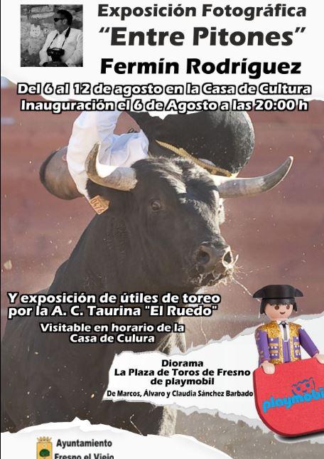El arte taurino se expone en Fresno el Viejo