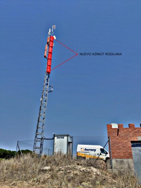 Medina instala un receptor TDT para uso de los vecinos de Rodilana