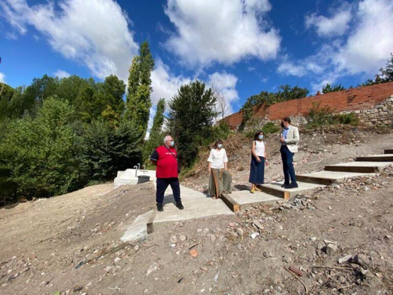 Conrado Íscar visita los municipios de Cogeces de Íscar, Mojados y La Pedraja de Portillo