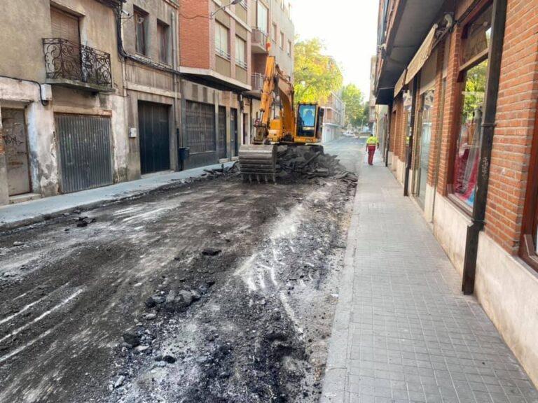 Arrancan las obras en la calle Ramón y Cajal y la plaza Don Federico Velasco