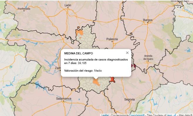 Medina del Campo: los mayores de 65 años los más afectados por el COVID-19