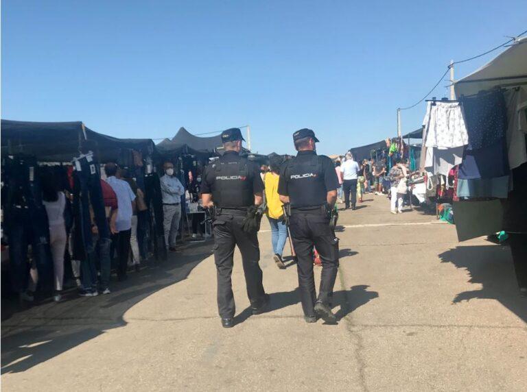 Medina del Campo: más presencia policial en el mercadillo municipal