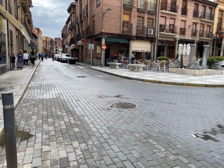 Medina del Campo: Comienzan las obras en la calle Simón Ruiz