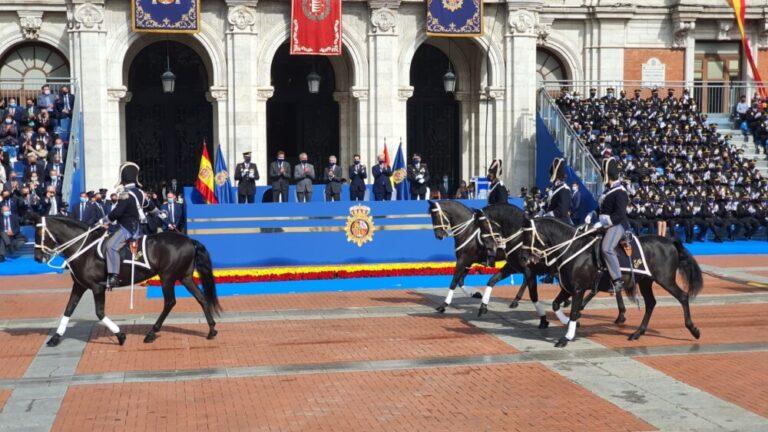 Marlaska ha presidido los actos centrales del Día de la Policía en Valladolid