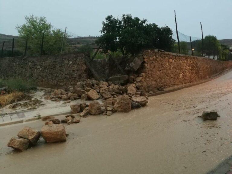 Veinticinco ayuntamientos de la provincia recibirán ayudas para reparar los daños ocasionados por las tormentas