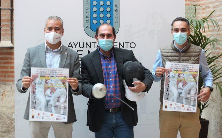 Cerca de 400 tiradores se darán cita este fin de semana en el 'Torneo Nacional M-17 de Esgrima' en Medina del Campo